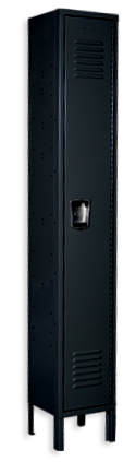Black color locker