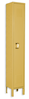 Maple color locker
