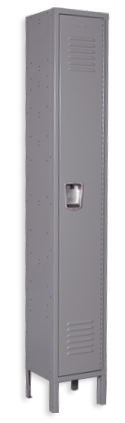 Slate-gray color locker