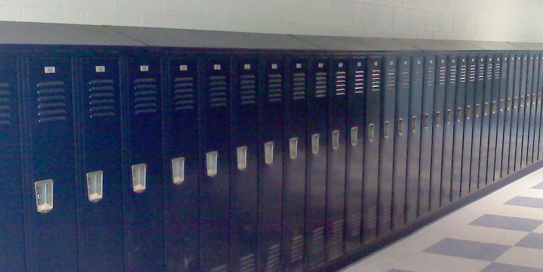 lockers for athletics
