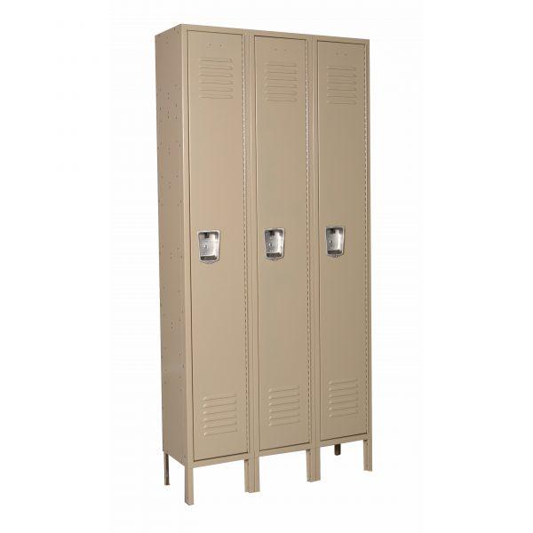 Single Tier 3-Wide Lockers-421