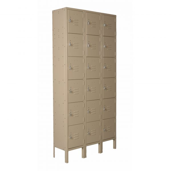 Six Tier 3-Wide Locker Unit-0