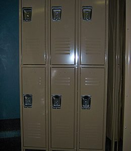 Double Tier Metal Locker -538