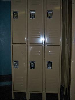 Double Tier Metal Locker -538
