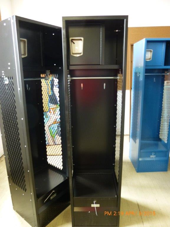 **** OVERSTOCK SPECIAL *** Athletic Locker, Security Box & Foot Locker-0