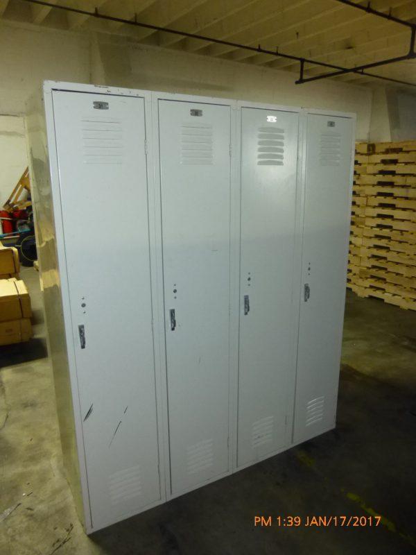 Single Tier, Used Locker-0
