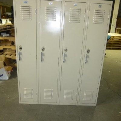 Single Tier, Used Locker-0