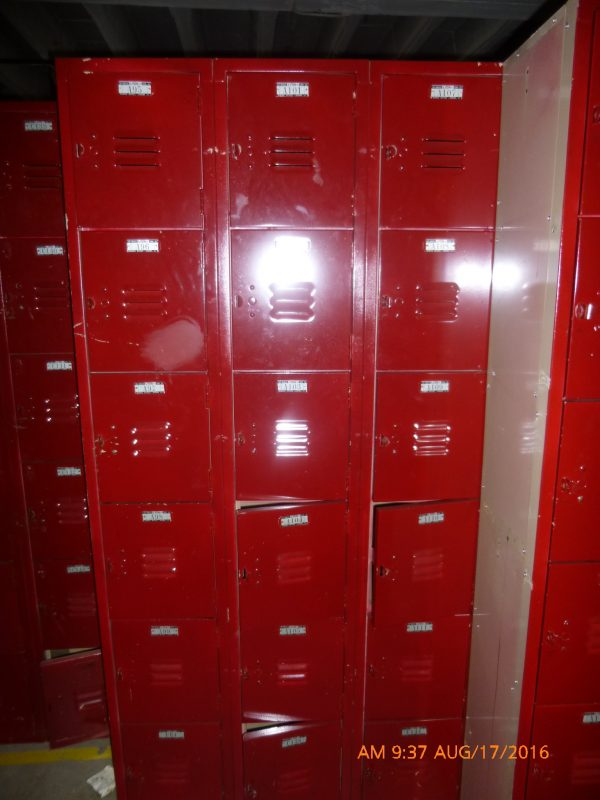 Six Tier Used Locker-0